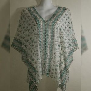 Boho Hippy Summer poncho